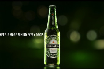 Heineken – There is more behind every drop